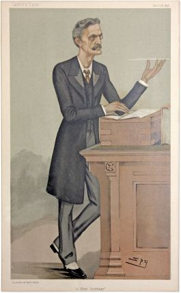 A Chief Secretary. Vanity Fair, December 10, 1896. Spy, Sir Leslie Ward