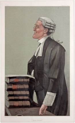 Vicar General. Vanity Fair, April 10, 1902. Spy, Sir Leslie Ward