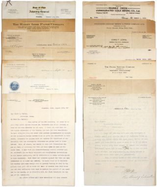 Letters Addressed to Jefferson, Ohio Prosecutor Clyde A Taylor.