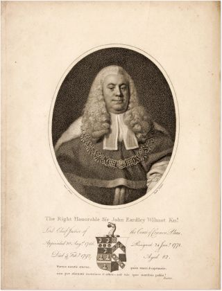 Memoirs of the Life of the Right Honourable Sir John Earley Wilmot. Sir John Eardley Wilmot