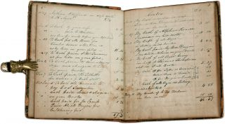 Account Book, Newfield, Maine, 1839-1849. Manuscript, Nathan Clifford, U S. Supreme Court