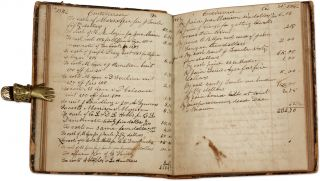 Account Book, Newfield, Maine, 1839-1849.