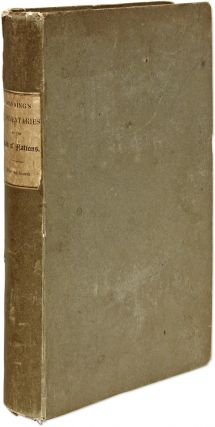 Commentaries on the Law of Nations. London, 1839. First edition.