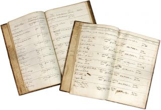 Justice's Docket Book. Amherst County, Virginia, 1850-1859. 2 books. Manuscript, Virginia