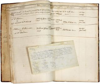 Justice's Docket Book. Amherst County, Virginia, 1850-1859. 2 books.