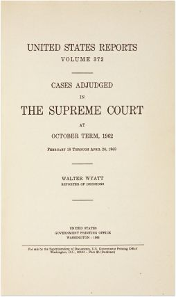 Gideon v. Wainright in 372 US 335 (1963), A Landmark Decision.