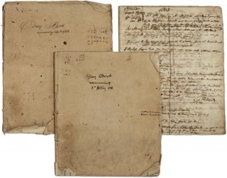 Day Book Commencing April 1794, with 1803 Daybook, and 1811 Day Book. Manuscript, Solicitors,...