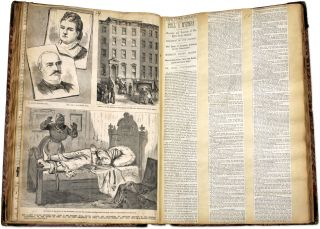 Law Points as Brought Forth in Different Cases, New York, NY, 1869. Scrapbook, John D. Townsend
