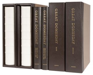 Great Domesday Book, 6 Vols, Folio, Complete set, London, 1986-1992. Domesday Book