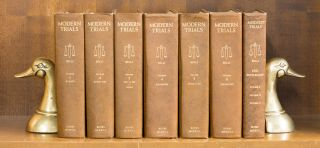 Modern Trials. 7 vols. 1954-1963. Complete set with 1966 supplements. Melvin M. Belli