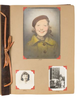 Scrapbook Compiled by Columbia University Law Student and Lawyer. Scrapbook, Beverly M. Glenn