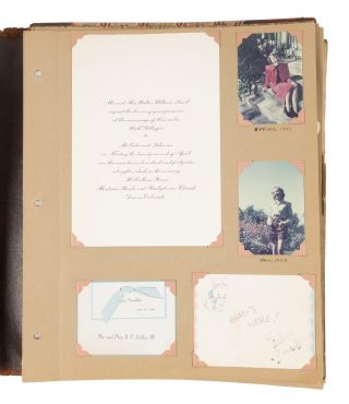 Scrapbook Compiled by Columbia University Law Student and Lawyer...