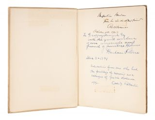 Speeches, Boston, 1900, Inscribed by Holmes, and Two Other Justices. Oliver Wendell Holmes