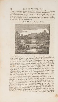 A Narrative of the Mysterious and Dreadful Murder of Mr W Weare...