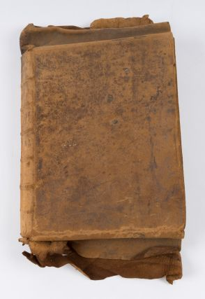 Law Dictionary, England, c 1745, 326 pp. Manuscript