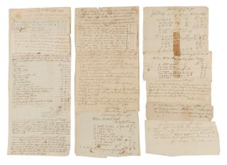 Deeds, Receipts, Estate Inventories and Other Legal Documents, 1780. Manuscript Archive, New...