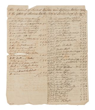 Deeds, Receipts, Estate Inventories and Other Legal Documents, 1780...