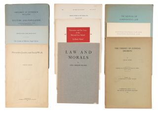 Offprints, Addresses and Pamphlets, 3 of Them Signed by Pound, 1908...