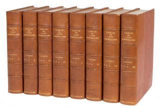 The Lives of the Lord Chancellors. Extra-Illustrated. 8 vols. Complete. John Campbell, Lord