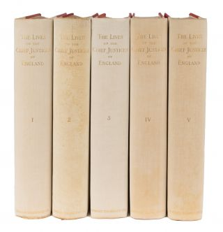 The Lives of the Chief Justices of England. 5 Vols. Northport, 1894.