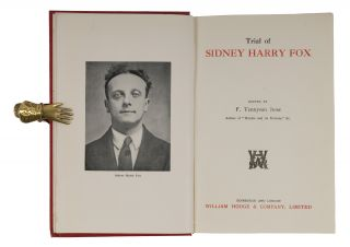 Trial of Sidney Harry Fox. 1st ed. Notable British Trials 1934.