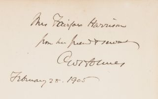 Speeches, Inscribed by Holmes.