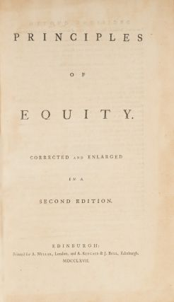 Principles of Equity, Second Edition, 1767.