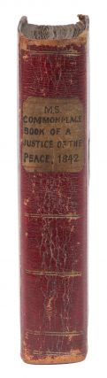Manuscript Commonplace Book of a Justice of the Peace.