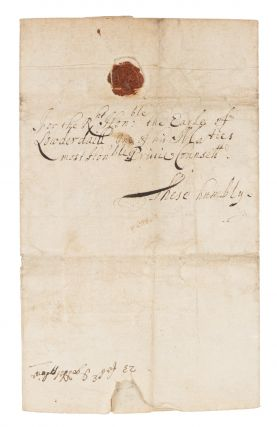 Letter to the Earl of Lauderdale, Doctors Commons, February 23, 1664