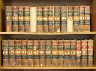 Ruling Cases. (1307-1908) 27 vols. with 2 supplement vols. Complete. Robert Campbell